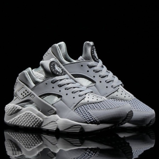 "huge selection of f58d5 36339 Nike Air Huarache ""Wolf Grey Pure Platinum-Black-white"""